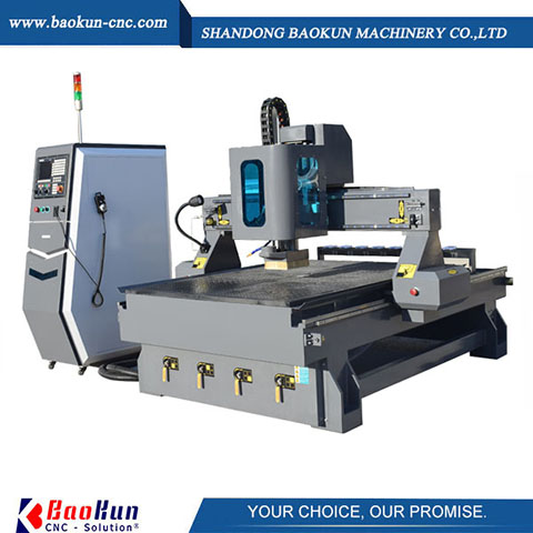Linear-Type ATC CNC Router Machine For Sales With Good Quality-2